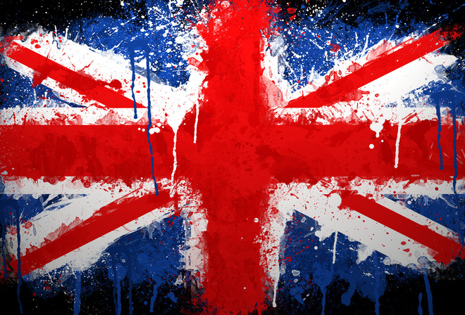 union jack, paint, uk