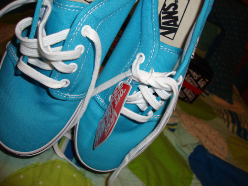 vans, shoes, blue