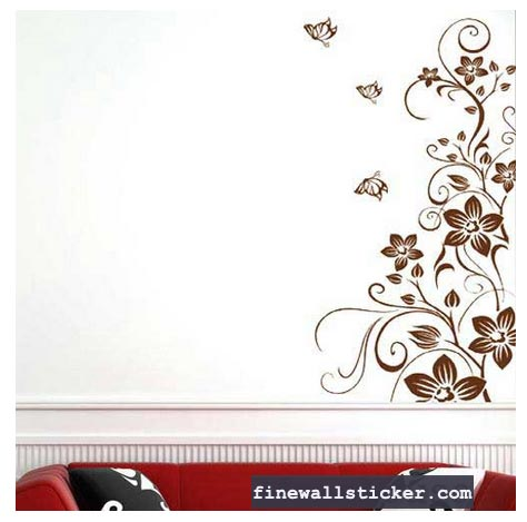 wall interior design on wall sticker wall decal design interior design vine wall stickers