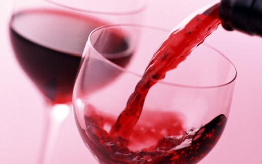 glass, red, wine