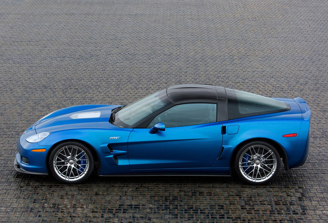 zr1, blue, corvette