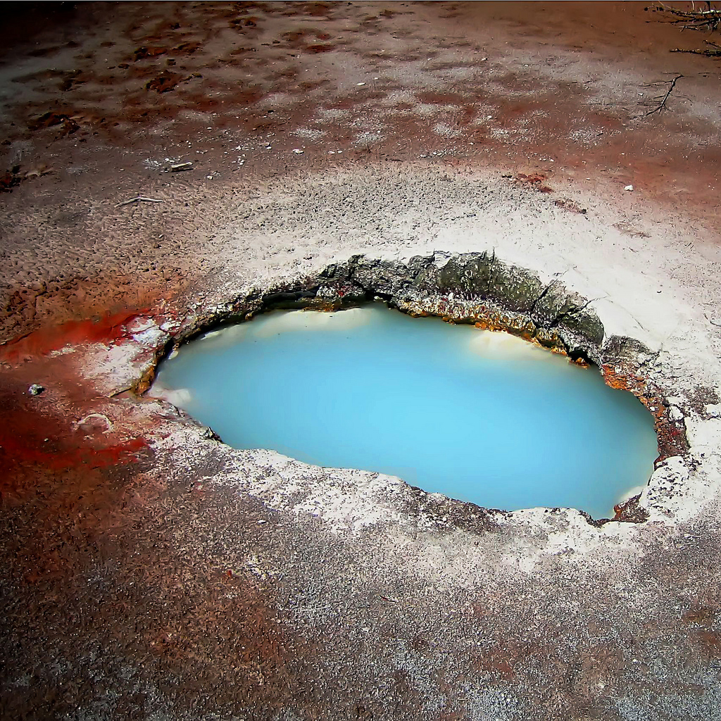 blue, Yellowstone, National, Park
