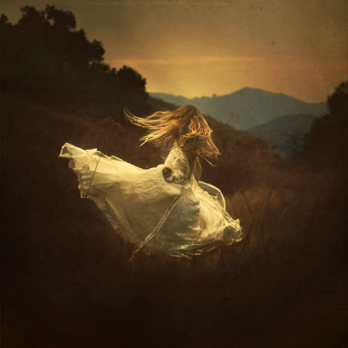 brookeshaden, dress, mountains, hills
