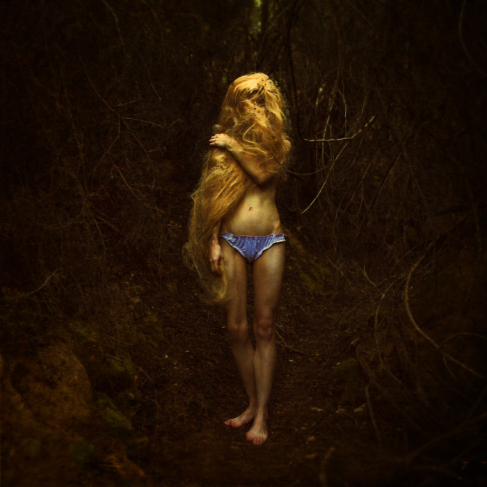 brookeshaden, woods, rapunzel, hair