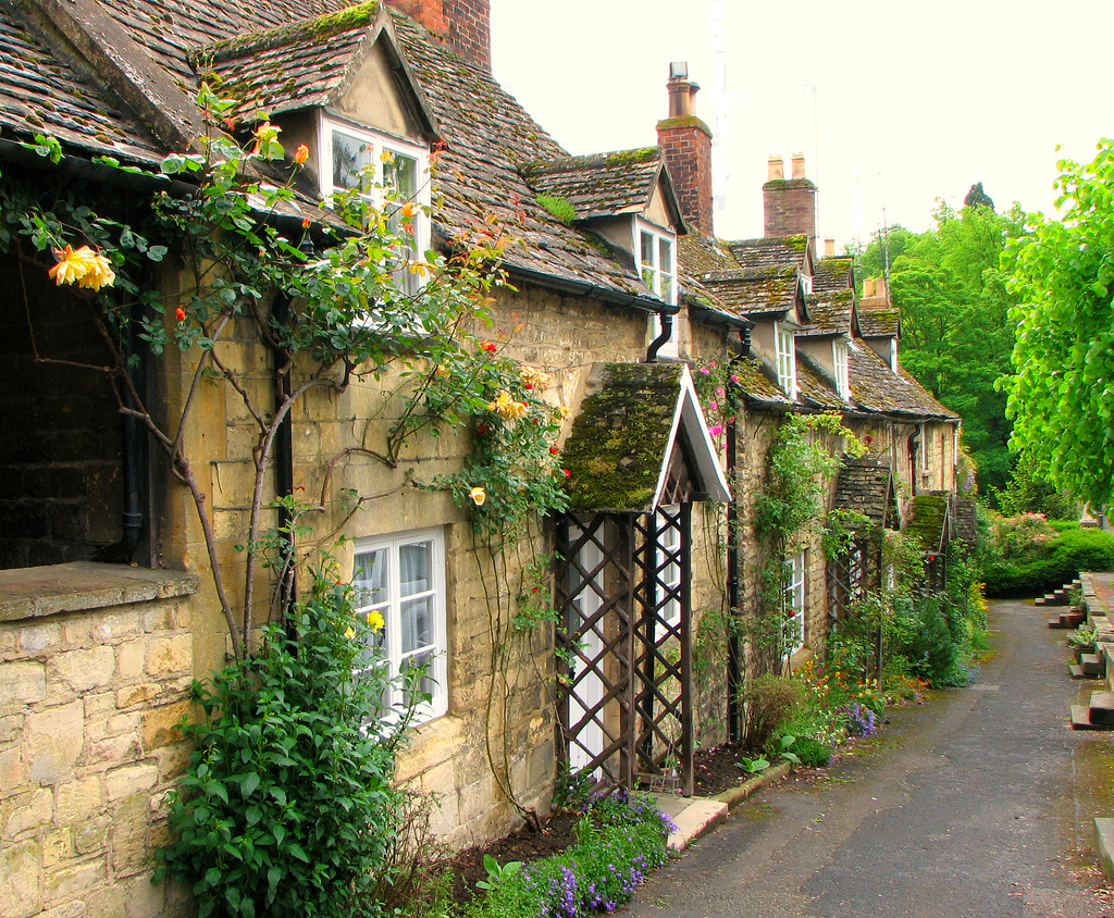 Cotswolds, cottages, England, Winchcombe