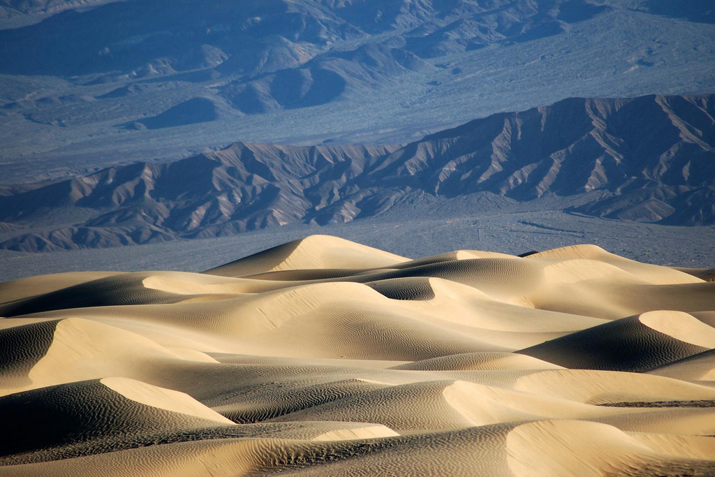 Death Valley, National Park, sand dunes, sand