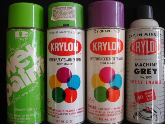 geser, krylon, paint, spray