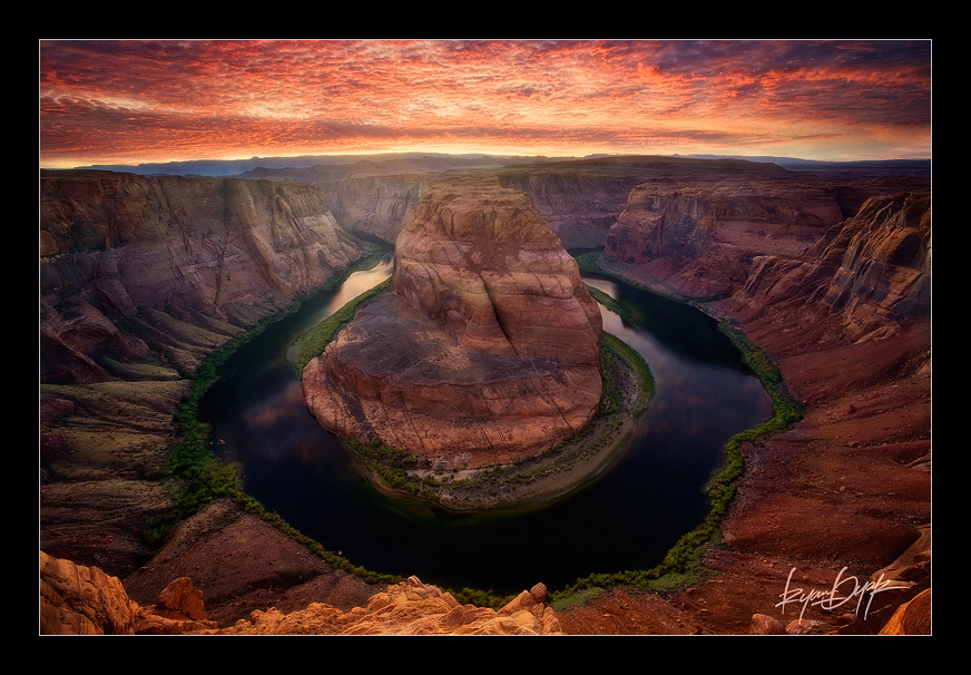 horseshoe bend, page, arizona, southwest