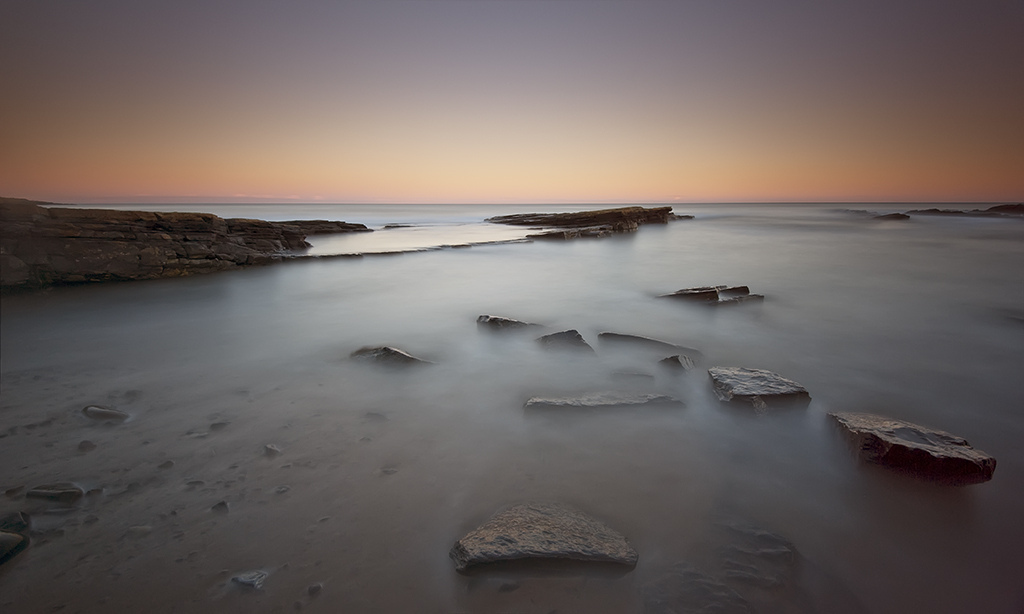 dusk, howick, lee filters and long exposure