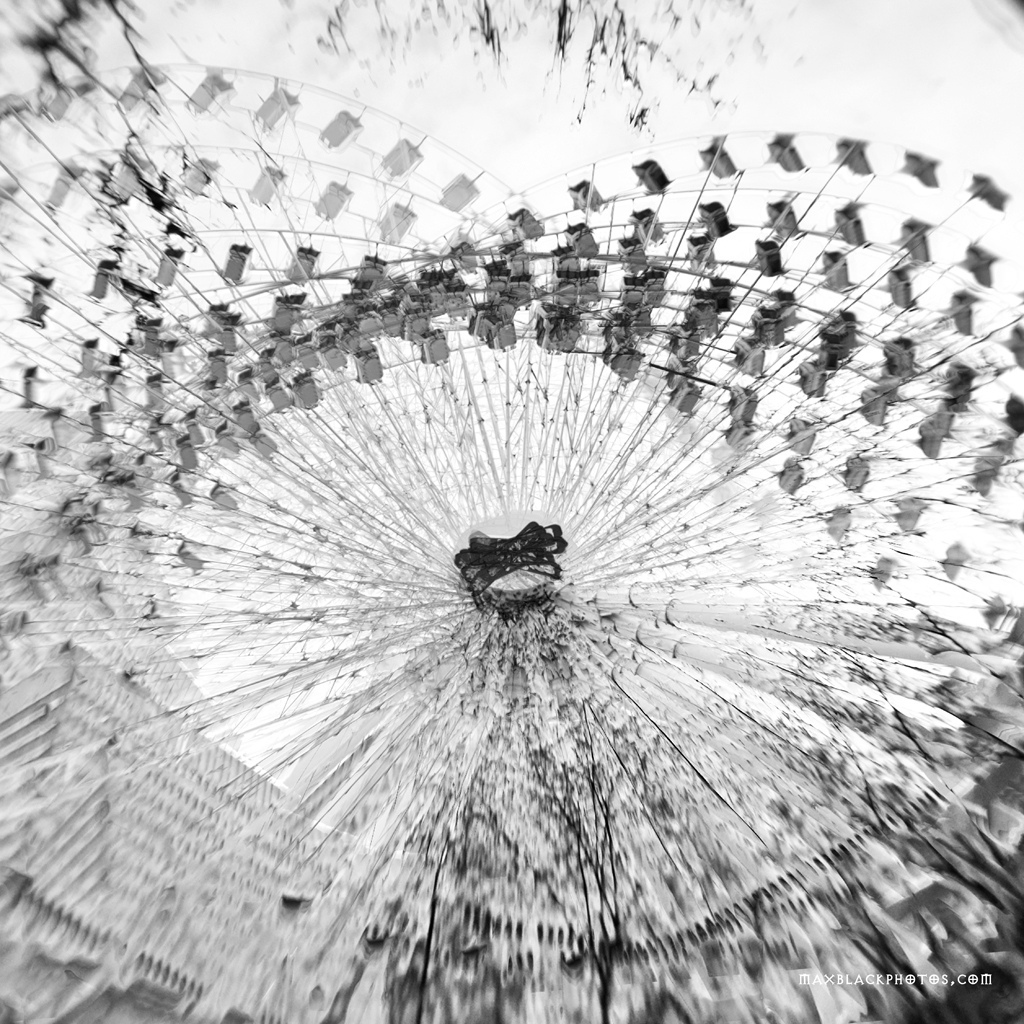 Idris Khan, Multi exposure, Manchester Wheel, Darkenm CS5