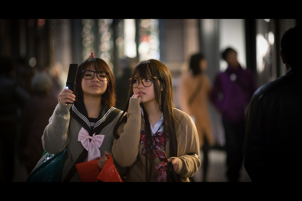 japan, tokyo, marunouchi, candid