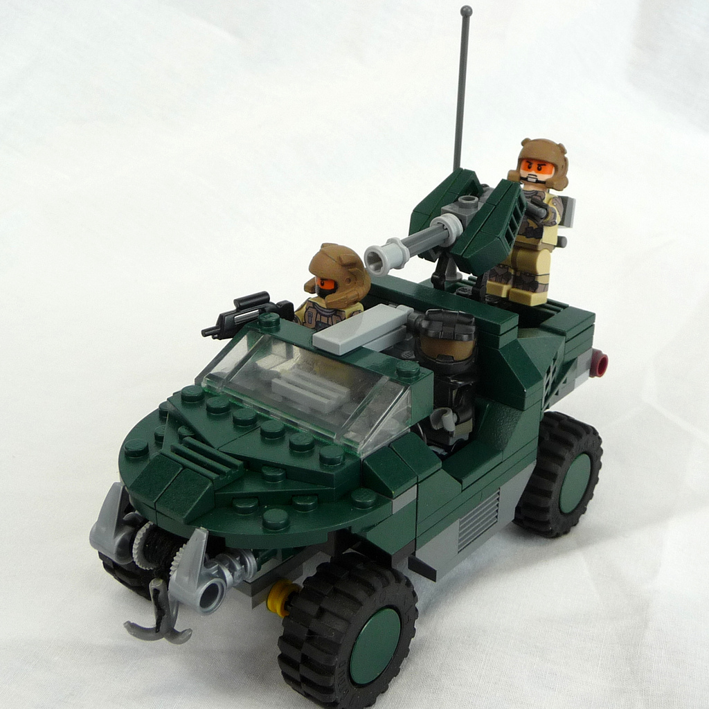 lego, warthog, halo, reach