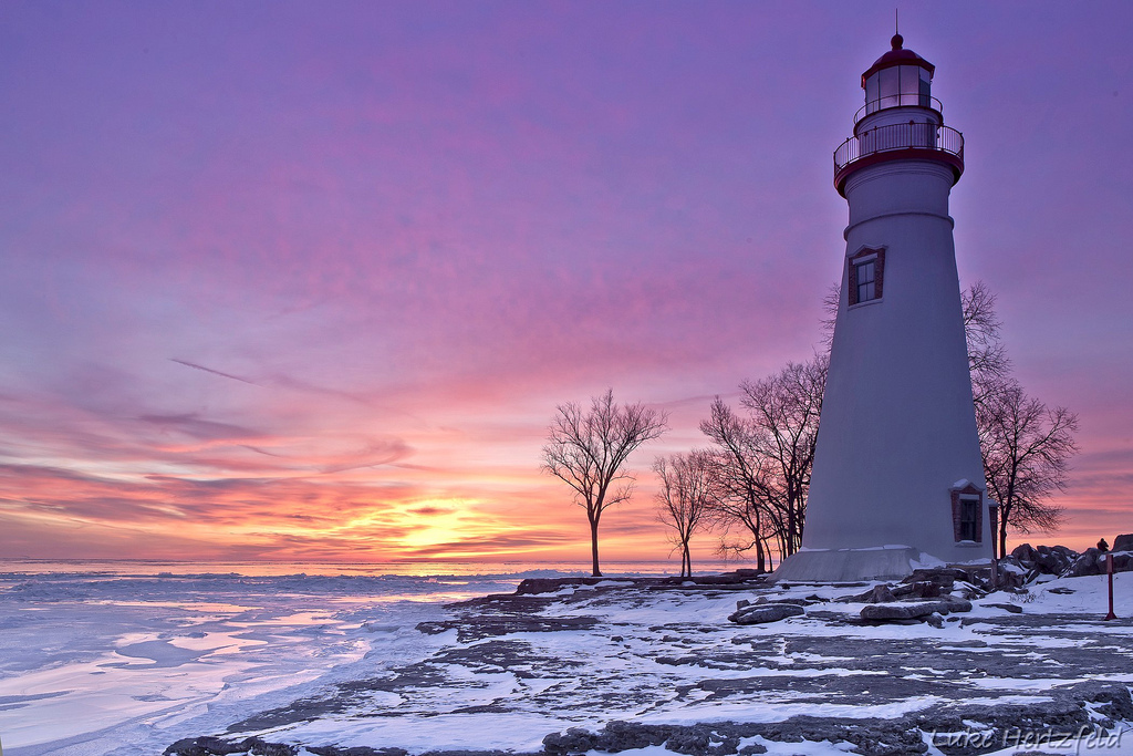 lighthouse, Marblehead Lighthouse, Marblehead, Lake Erie