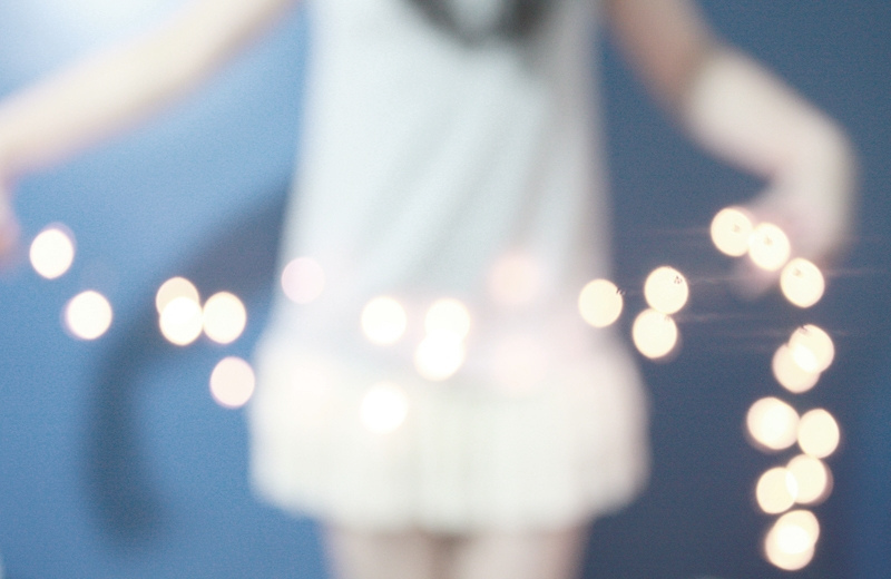 lights, dress, girl, menina