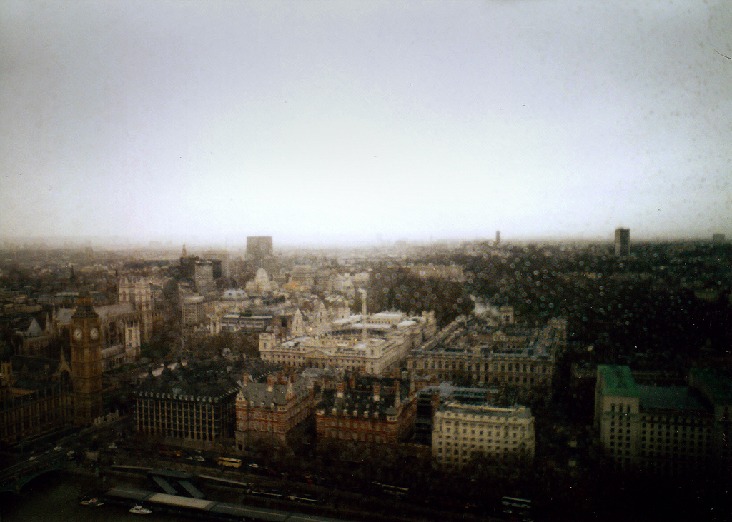 london, analog, london eye, sky