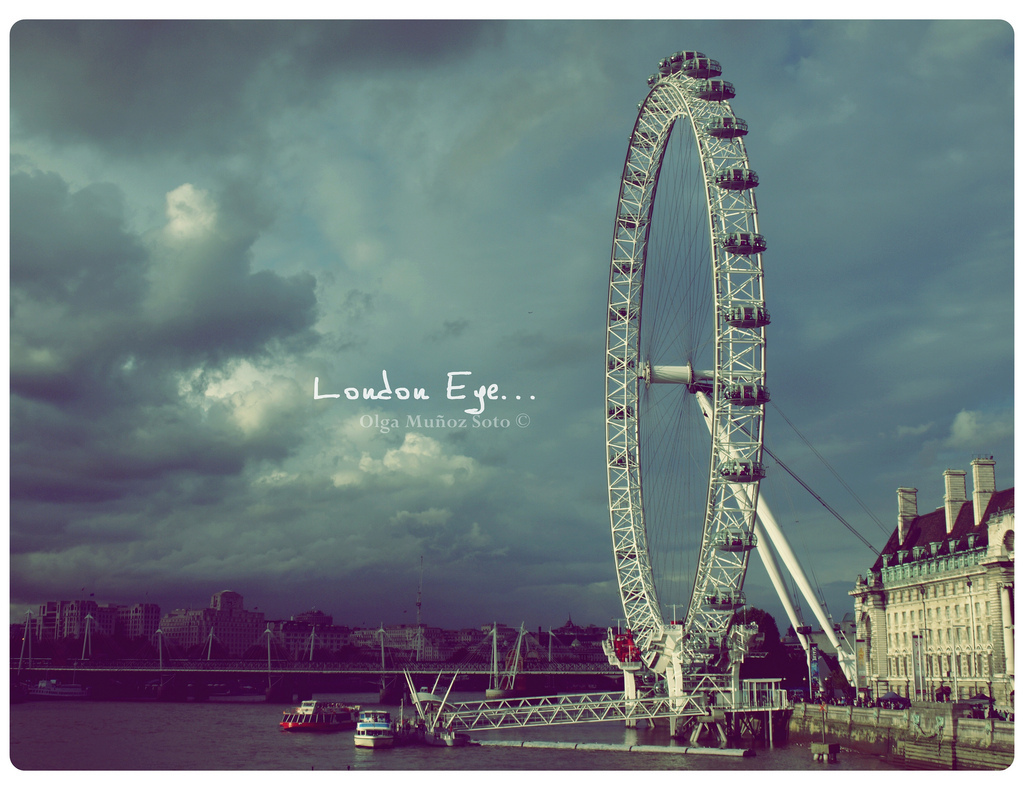 London Eye, Olga Muñoz Soto, 365, reminds