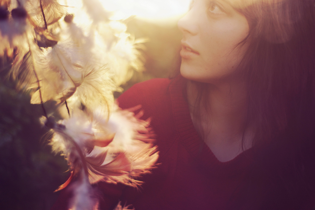 Molly Lichten, dreamcatcher, golden hour, explore