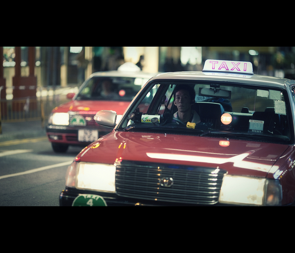 Mr. Cab Driver, Hong Kong, Canon EOS 5D Mark II, Canon EF 135mm F2L USM