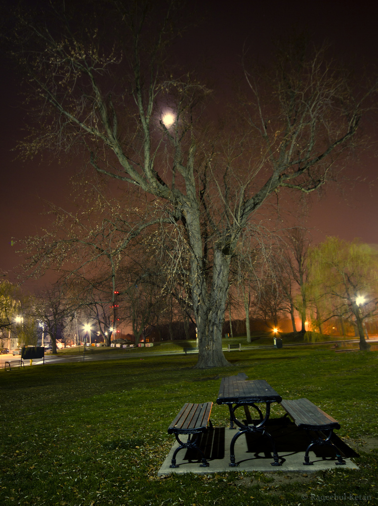 Night, Long Exposure, Boston, Salem