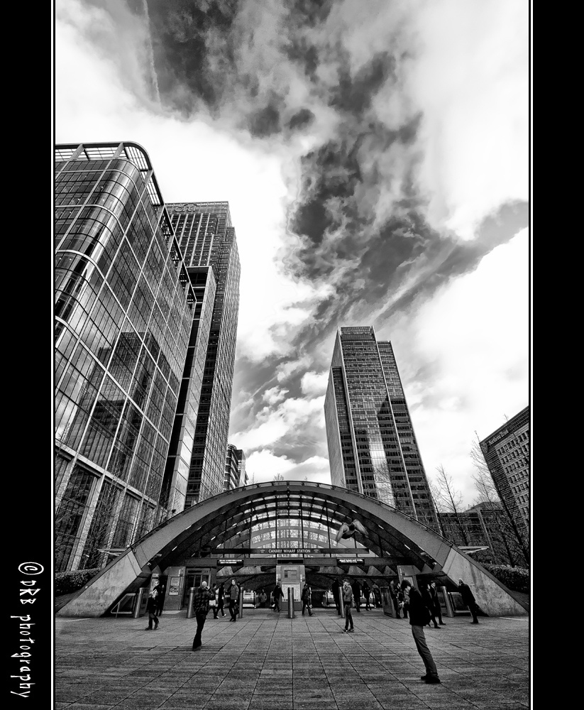 Nikon, D90, Canary, Wharf