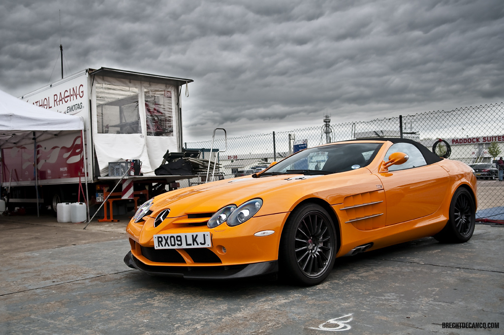 Orange, Mclaren, Mercedes-Benz, SLR