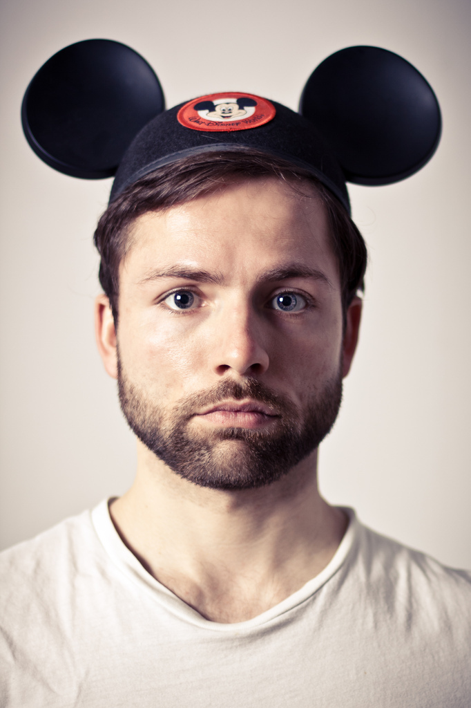 portrait, mickey, mouse, disney