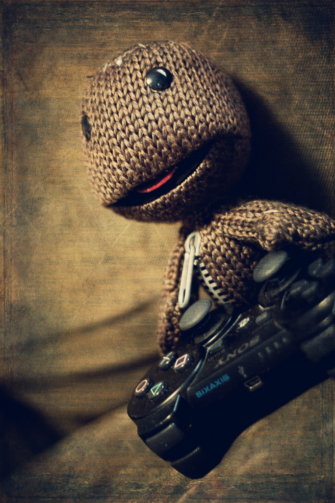 Sackboy, Little Big Planet, PS3, controller