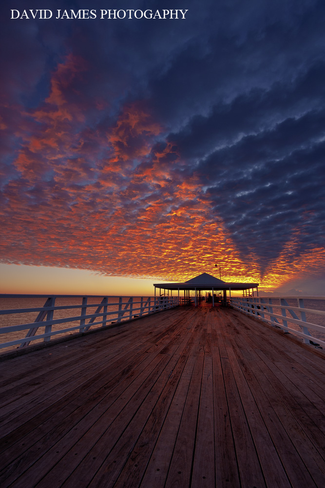 shorncliffe, sky, clouds, pier