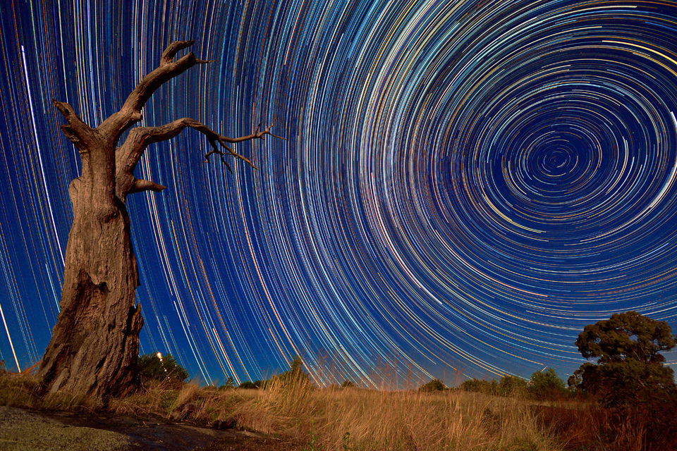 star, startrail, astro, night