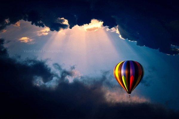 ?????, clouds, colors, cs5, d90, explore, front page, hot air balloon, hss, lightroom, nikon, photography, ps, rays, sky, sliders sunday, sun
