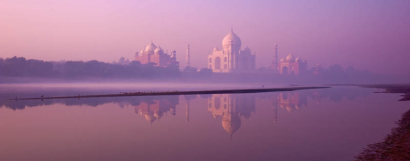 Taj Mahal, dawn, india, shah jahan