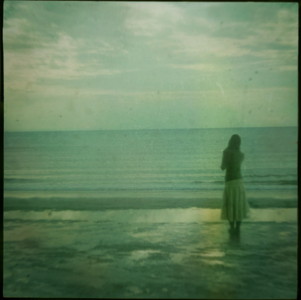 miu37, reminder, retro, sea, sky, the words are from my friend, vintage, water