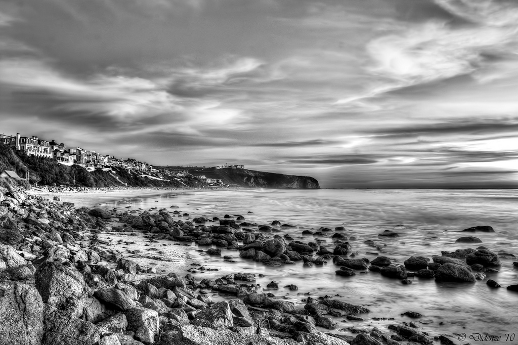 TheStrand, seascape, rocks, bluff
