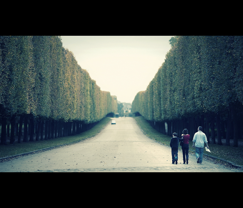 What Lies Ahead, France, Versailles, Canon EOS 5D Mark II