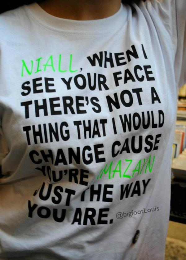 1d, amazayn, bruno mars, fan, niall, niall horan, one direction, t-shirt, zayn malik
