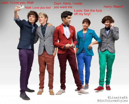 1d, colour, fun, harry styles