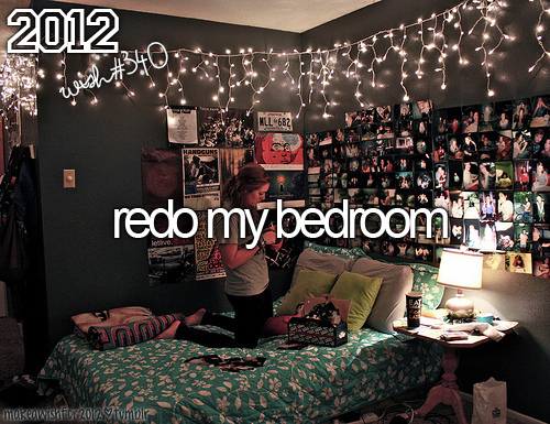 2012, amazing, beautiful, bed, bedroom, cute, i wish 2012, poster, wish, wishes