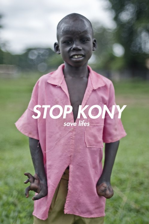 2012, black, cause, child, grass, help, hipster, indie, kony, pink, save, stop, white