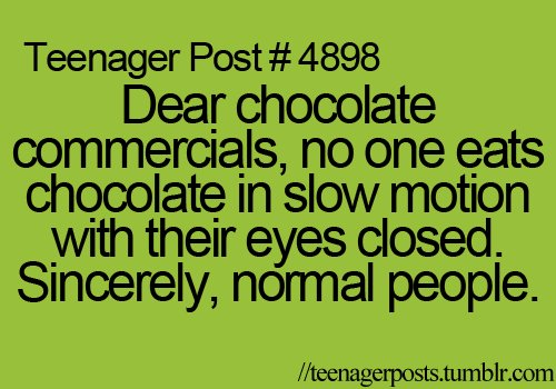 4898, chocolate, commercials, funny
