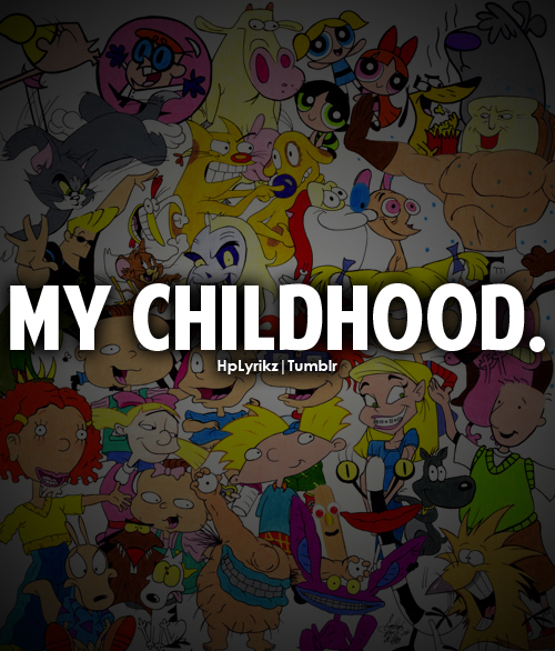 90s, cartoons, childhood, quotes