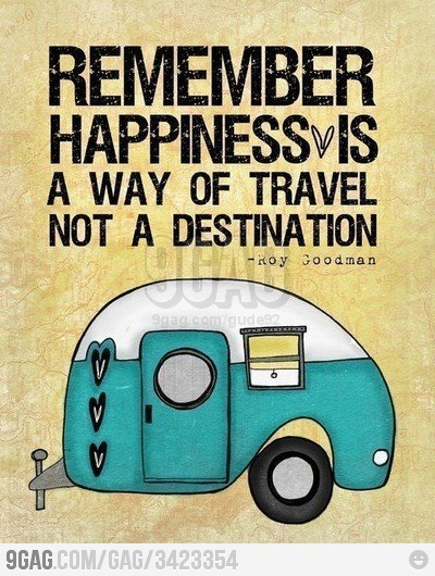 9gag, be happy, car, destination