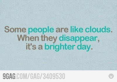 9gag, bitch, cloud, clouds