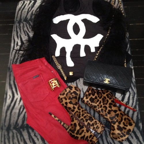 bags, chanel, fashion, louboutin, shoes