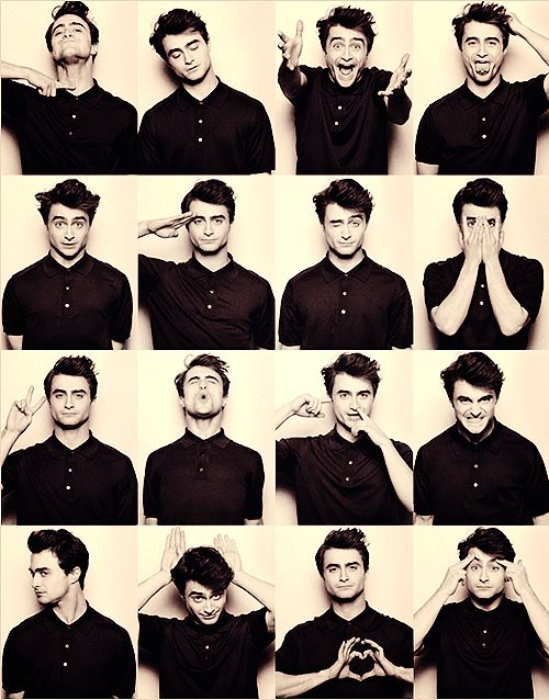actor, daniel radcliffe, faces, harry potter