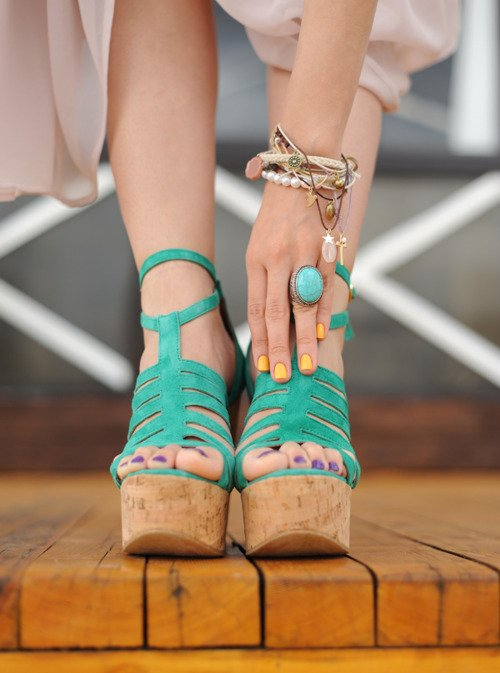 add more tags, awesome, beautiful, blue, bracelets, dress, fashion, girl, heels, jewellery, legs, nail polish, nails, ring, rings, shoes, style, stylish, summer