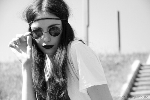 adorable, alternative, amazing, b&w, beautiful, beauty, black and white, black lips, chic, classic, colors, cool, creative, cute, fashion, girl, glasses, hair, headband, lips, lipstick, model, perfect, photo, photography, pretty, sexy, shirt, style