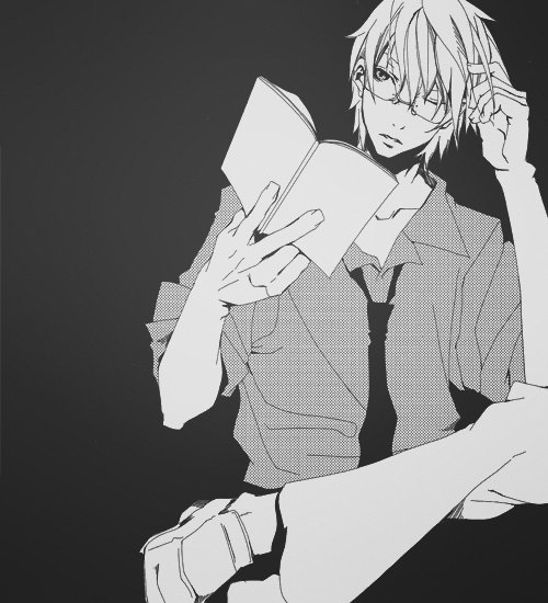adorable, amazing, anime, art, aw, b&w, beautiful, black & white, black and white, boy, cute, draw, fashion, glasses, guy, hair, illustration, image, kawaii, male, perfect, style