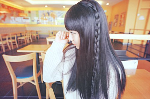 adorable, asia, asian, bangs, beautiful, black hair, braid, cute, eye liner, fashion, girl, hair, kfashion, korea, korean, long, make up, pretty, seoul, style, ulzzang