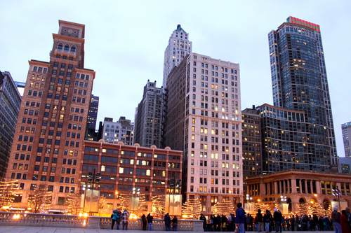 adore, amazing, architecture, chicago, city, city lights, luxury, people, sky, skyline