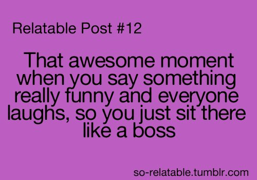 ahahahha, black, boss, funny, joke, laugh, purple, so-relatable, tumblr